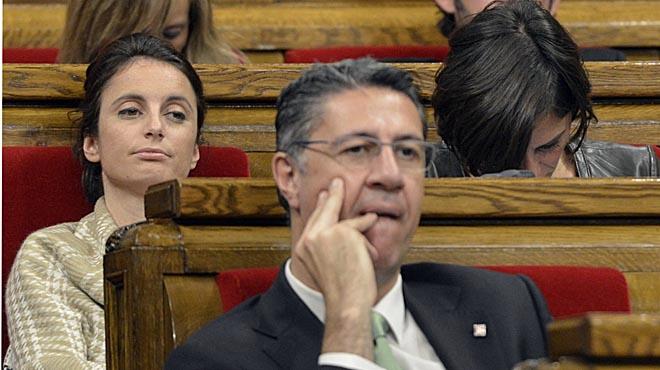 La reacción de Andrea Levy en el Parlament