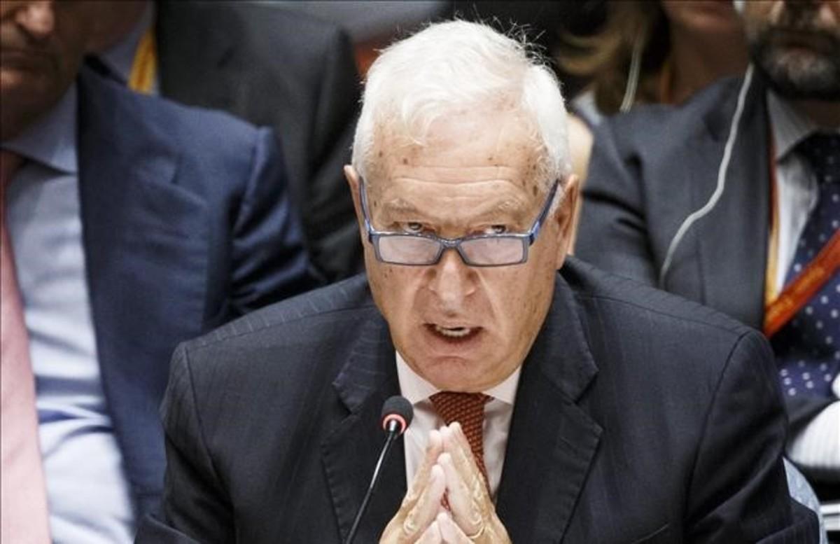José Manuel García-Margallo, en la asamblea general de la ONU.