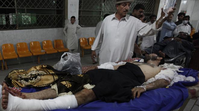 Atentado en Pakistán.