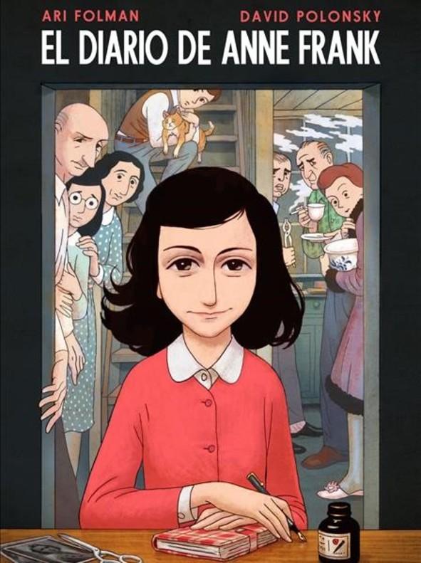 Resultado de imagen de El diario de Anne Frank. Ari Folman