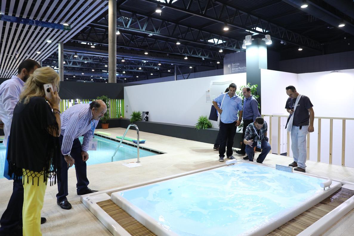 El sal n piscina wellness recibe el 9 m s de visitantes for Piscina wellness barcelona