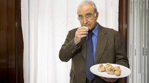 Isidre Gironès, propietario del restaurante Ca lIsidre.