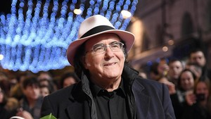 lmmarco37194689 italian singer al bano arrives on the red carpet for the 67t180123172525