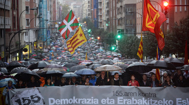 El Parlamento vasco vota en contra de reconocer la independencia catalana