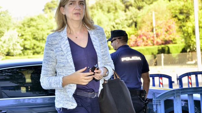 Vist per a sentència el judici de la Infanta Cristina que renuncia al seu torn d'última paraula