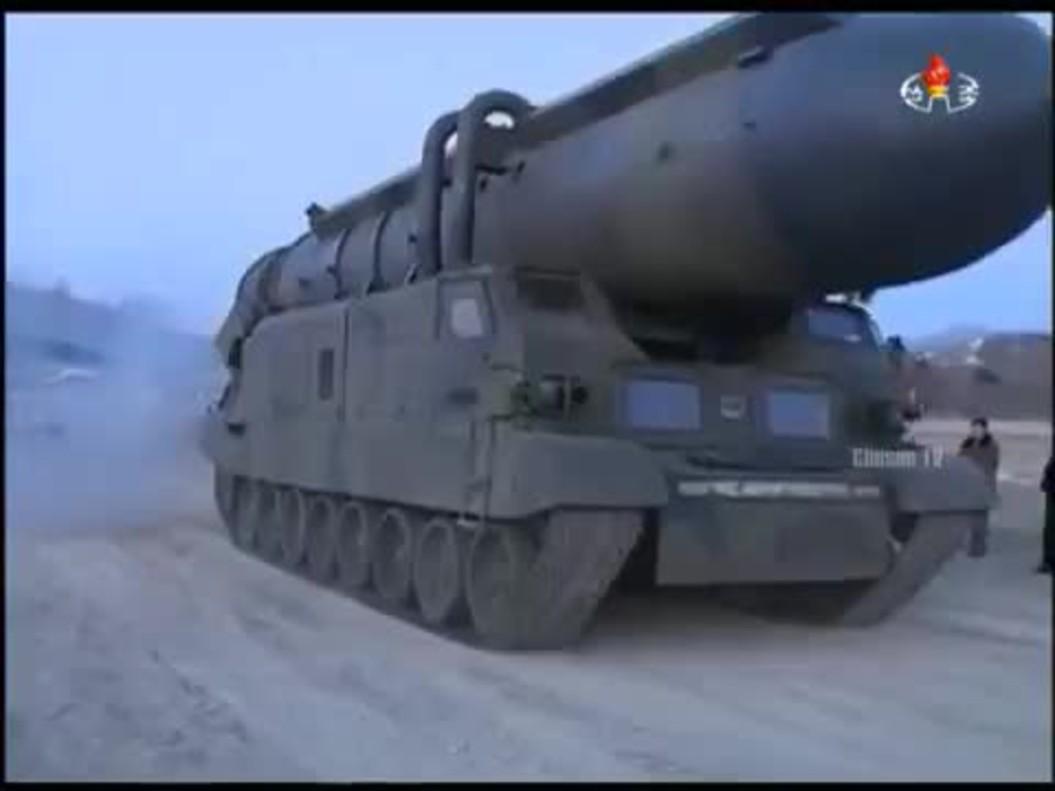 Vídeo del lanzamiento del misil norcoreano