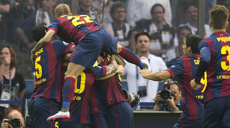 El Barça, tricampió