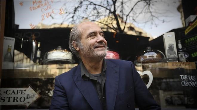 El cantautor Jaume Escala, fotografiado esta semana en Barcelona.