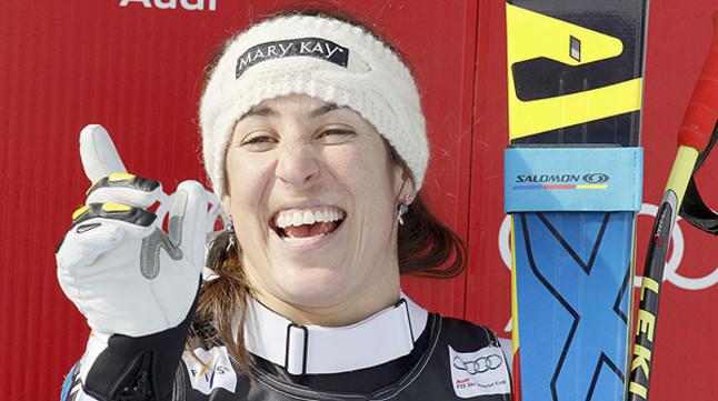 Carolina Ruiz logra el primer triunfo para Espa�a en un descenso de la Copa del Mundo