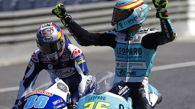 Mir s'escapa al Mundial de Moto3 després d'una brillant victòria