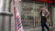 Els Mossos busquen uns lladres que han buidat dues botigues de telefonia mòbil al Baix Llobregat