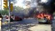 Al menos 13 detenidos tras una batalla campal en el centro de Barcelona