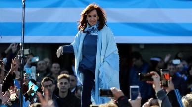 Cristina Fernández de Kirchner, el pasado martes.