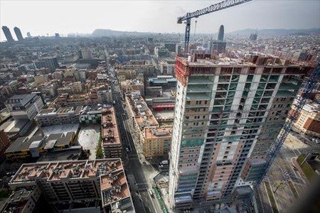 El precio de la vivienda subió el 6,6% en el 2015