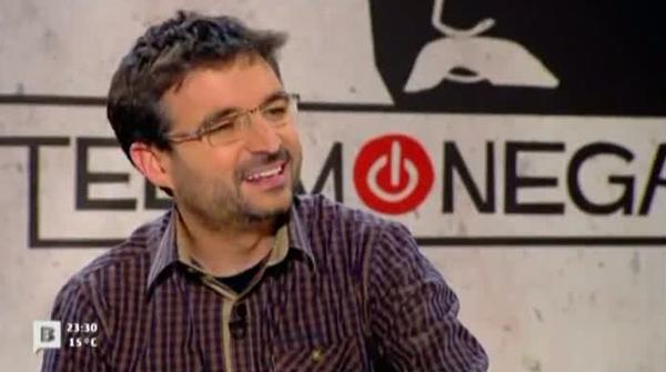 Entrevista de Ferran Monegal a Jordi Évole.