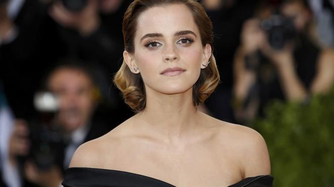 La actriz británica Emma Watson en la gala del MET.