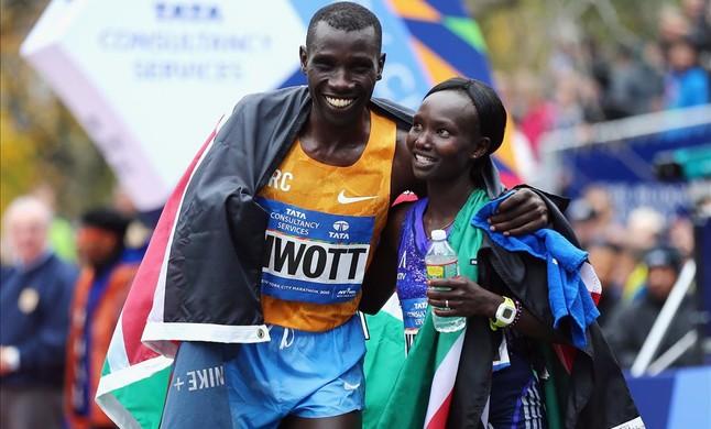 Dominio keniano en el maratón de Nueva York