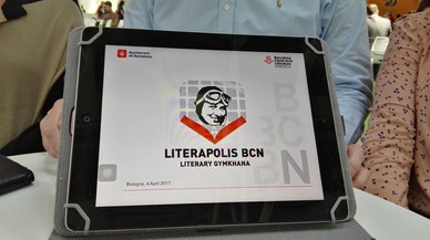 Una gincana digital por la Barcelona literaria