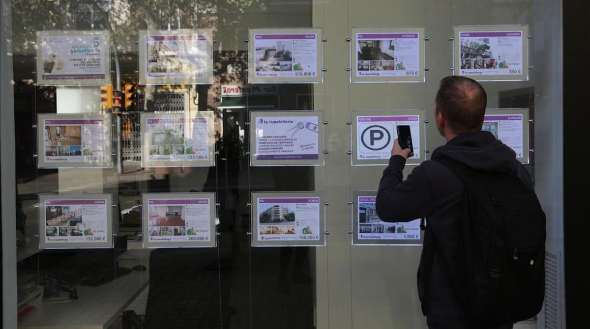 Crece la proporci n de pisos de m s de euros al mes for Piso 500 euros barcelona