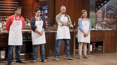 Jos� Luis, Virginia, �ngel y Roc�o, finalistas de la cuarta temporada de 'Masterchef'