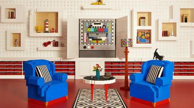 Dormir en una casa feta amb 25 milions de peces Lego