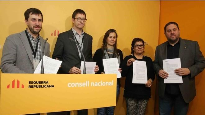 ERC llança un gest de complicitat a Catalunya Sí que es Pot