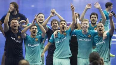 El Barça jugarà la final de la Lliga de futbol sala contra el Movistar Inter després de guanyar el Pozo en els penals