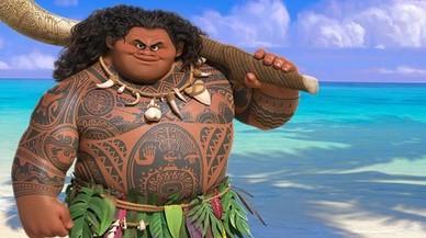 Maui, el pol�mico nuevo personaje de la �ltima pel�cula de Disney, Moana.