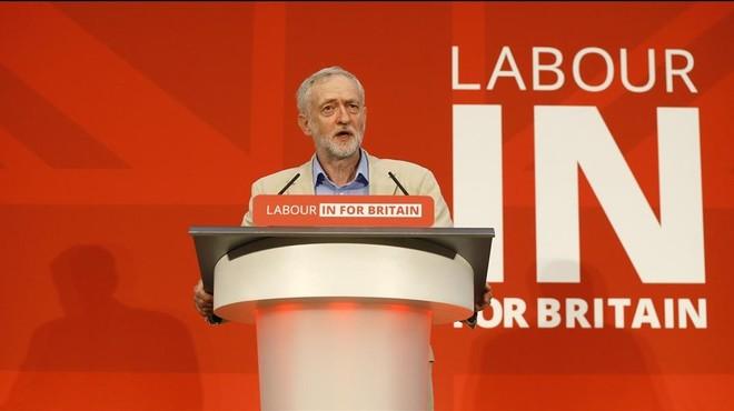 Corbyn crida els laboristes a votar per la permanència del Regne Unit a la UE