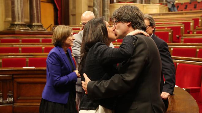 Así es Marcela Topor, la esposa del 'president' Carles Puigdemont