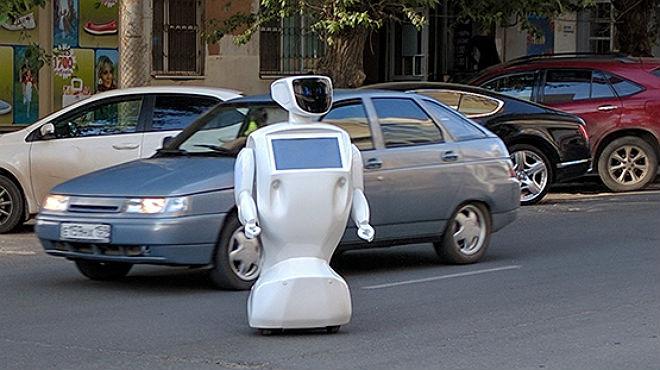 Robot se escapó de su laboratorio y causó desórdenes en Rusi