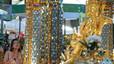 Reobre el santuari hindú atacat a Bangkok