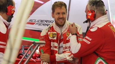 """Vettel diu """"idiota"""" a Alonso al GP de Mèxic"""