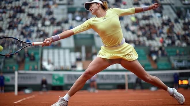 Muguruza arriba a la semifinal de Roland Garros