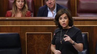 """El Gobierno insta a Puigdemont a asumir su """"fracaso"""" tras la dimisión de Batlle"""