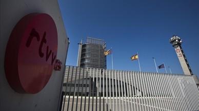 Instalaciones de la radio y la televisi�n auton�micas de Valencia, cerradas desde el 2013.