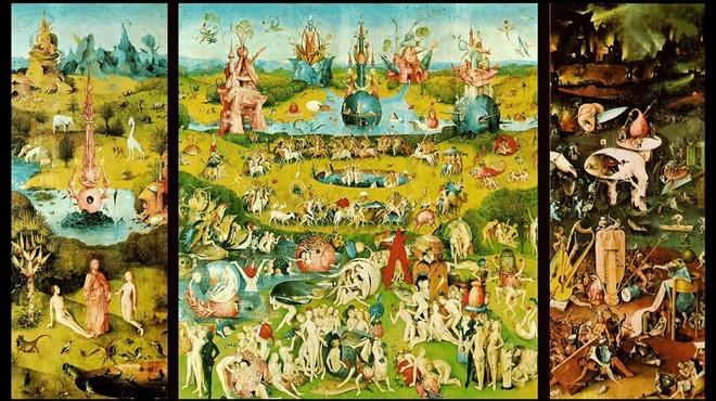 El tr�ptico 'El jard�n de las delicias', una de las obras maestras de la gran exposici�n que el Prado dedica a El Bosco.