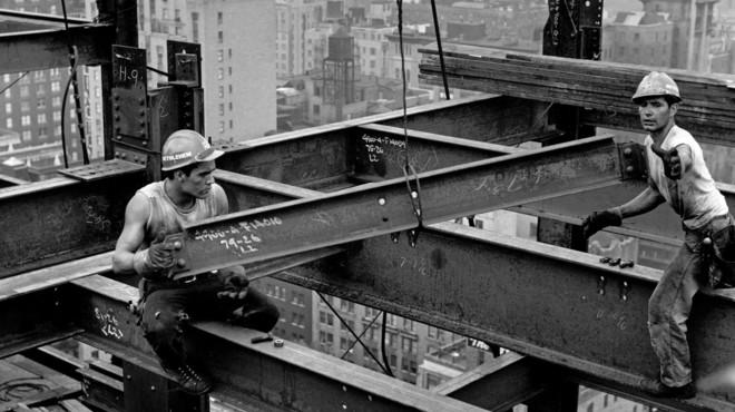 Una de las fotograf�as de Carles Fontser� realizada en Nueva York a finales de los a�os 50.