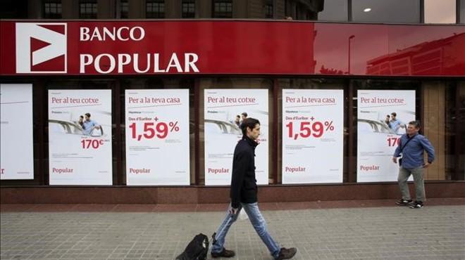 Noticias del banco popular for Oficinas banco santander alicante capital