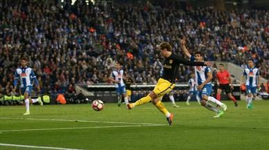 L'Espanyol cau al parany de l'Atlètic (0-1)