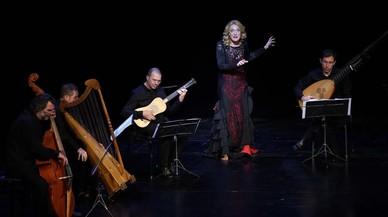 Magdalena Kozená, en clave barroca y flamenca