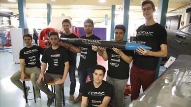 Estudiants de la UPC se'n van a l'espai