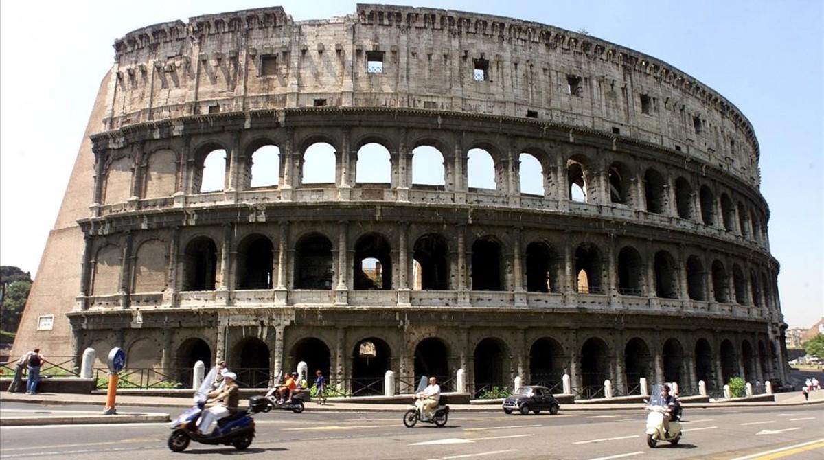 Los preparativos del musical 'Nerón' en el Palatino causan una gran polémica en Roma