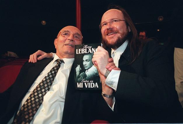Tony Leblanc y Santiago Segura.