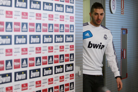 Benzema, en una reciente rueda de prensa, el pasado enero.