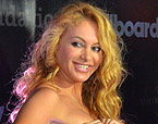 La cantant Paulina Rubio. 