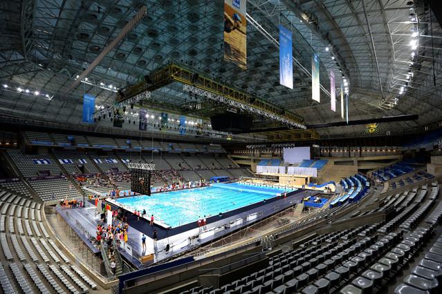 Barcelona a punto para su segundo mundial en 10 a os for Piscina 50 metros barcelona