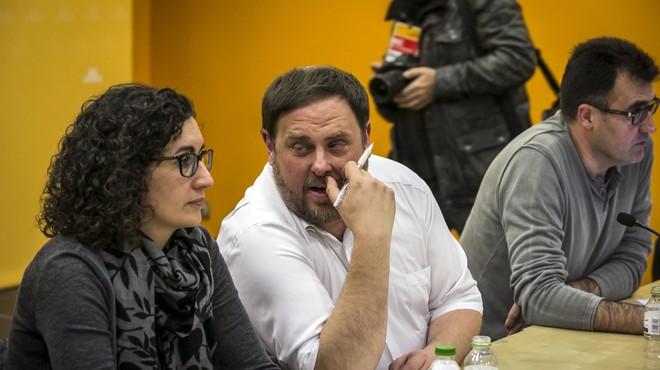 """Oriol Junqueras: """"Mantenim que el candidat és Mas"""""""