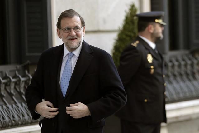 Mariano Rajoy llega al Congreso