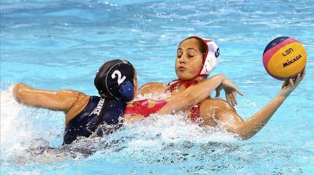 La jugadora española Judith Forca ha visto puerta ante Italia.